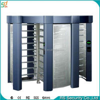 entrance control access control four arm full height turnstile doors