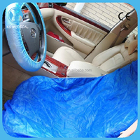 Non woven fabric disposable bus seat cover car