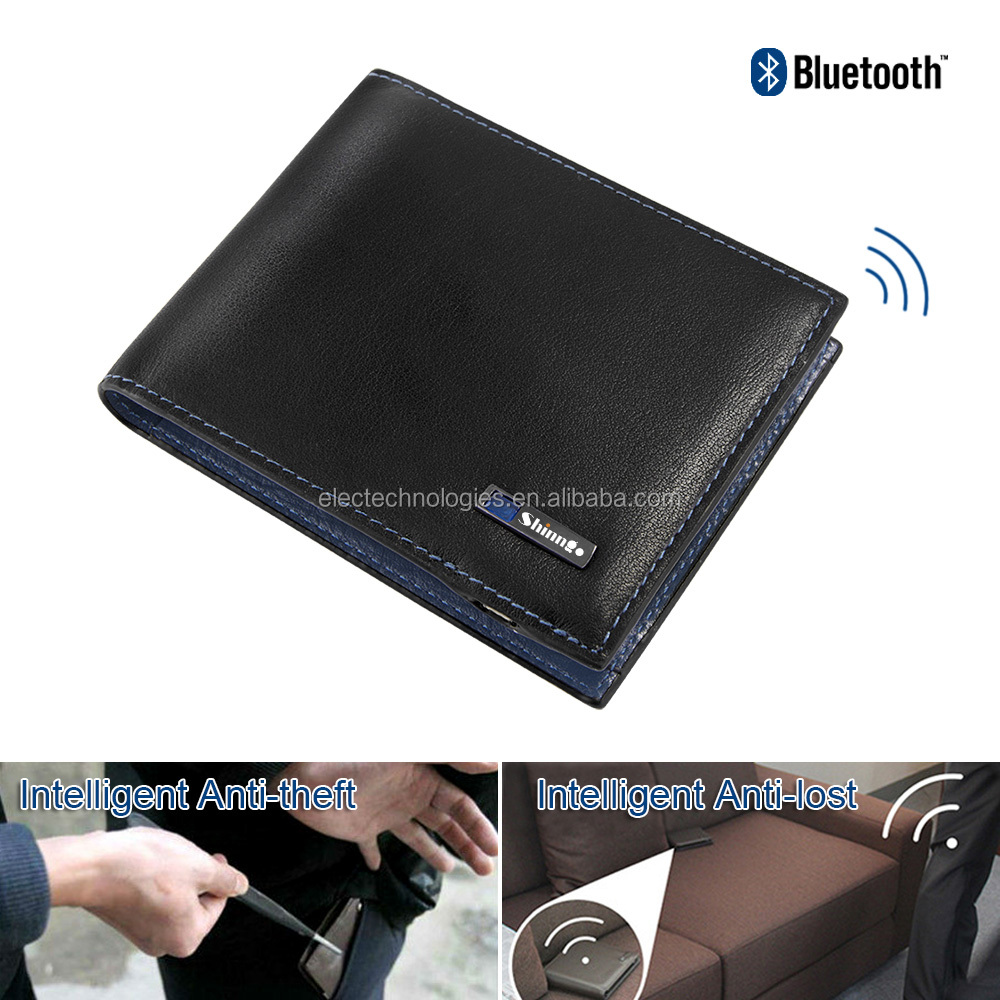 Anti-theft,Anti-lost Intelligent Wallet hot selling on the market wallet anti-lost alarm