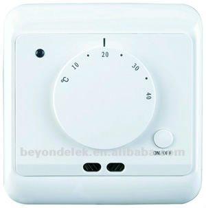 Calefacci n por suelo radiante termostato byc12 sistemas - Calefaccion radiante precio ...