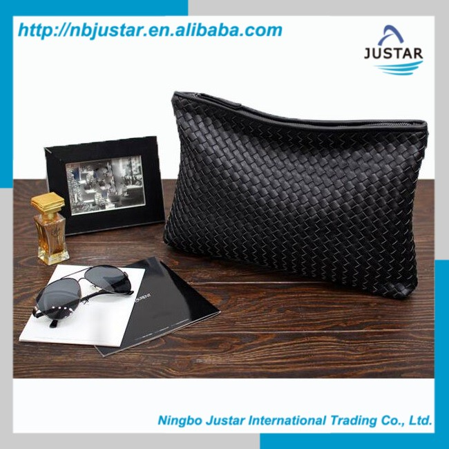 2016 New Design Soft PU Leather Envelope Shape Elegant Purse and Handbags for Ladies