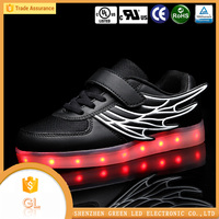 China wholesale shoes trainers lighting kids led shoes