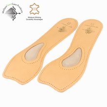Pure natural sheepskin adhesive shoe pads for women shoes
