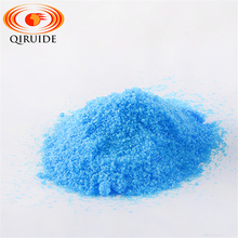 Qiruide 98% Industrial Electron Grade Blue Crystal C2H2CuO4 Copper Formate Tetrahydrate Copper Formate