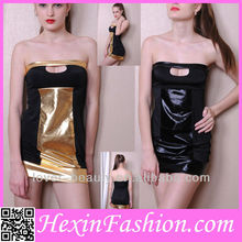 Fast Delivery New Fashion Shiny Latex Club Wear Accept Paypal