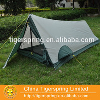 ultralight single layer triangle camping tent