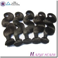 Factory supply weaves bundles brazilian and malaysian human hair