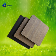 SEBO exterior waterproof wood color compact laminate phenolic hpl panels