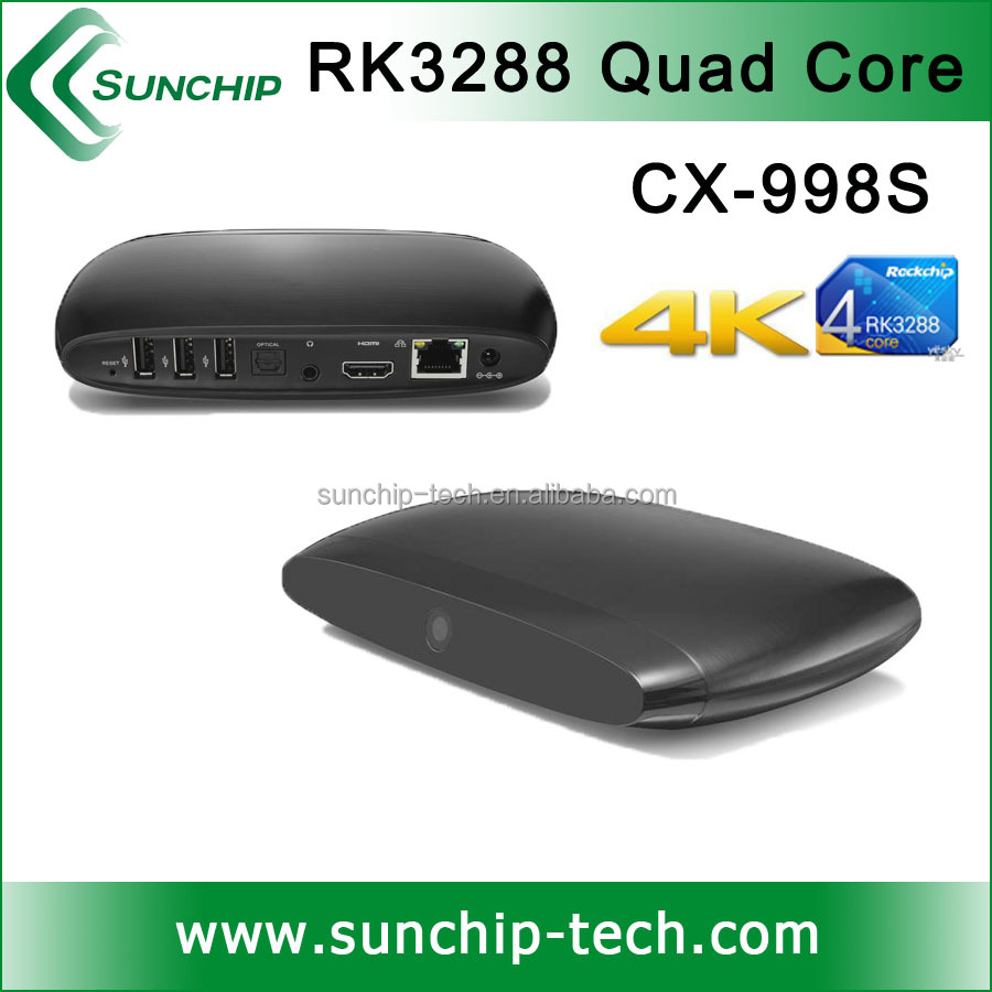 android full hd 1080p media player, RK3288 chipset, 2G DDR 16G Flash