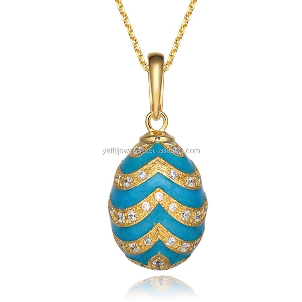 925 sterling silver faberge egg pendant necklace saster