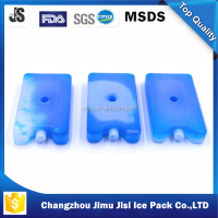 Mini ice brick 400ml plastic cooler mini box fits any size cooler bag