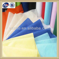 raw absorbent backpack fabric nonwoven material