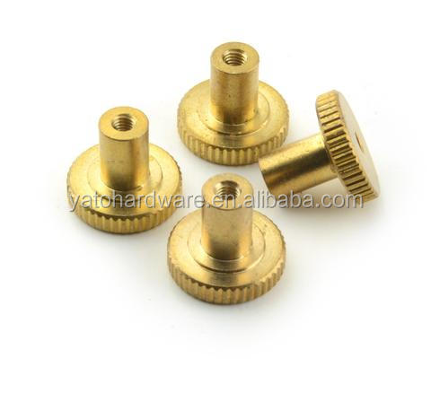 CNC Turning Heated Bed Adjustment Brass Thumb Nut