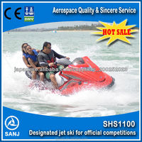 SANJ High quality 4 Stroke water scooter prices with ce approved jet water scooter jetski jet ski