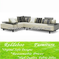 Modern furniture high end sectional fabric sofa