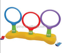 PVC water play inflatable ring toss game