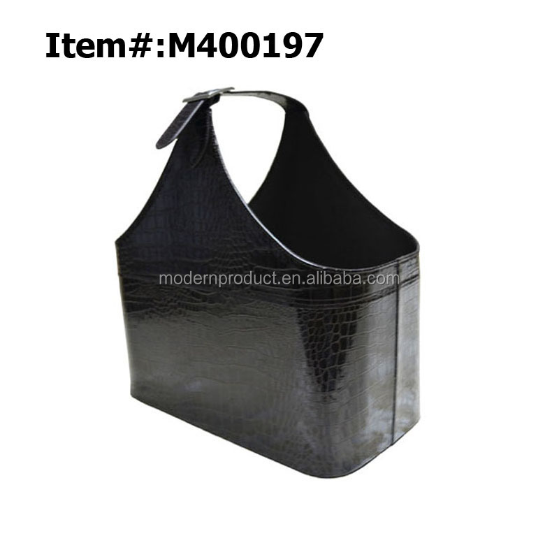 PU Faux Leather Gift/Storage Basket