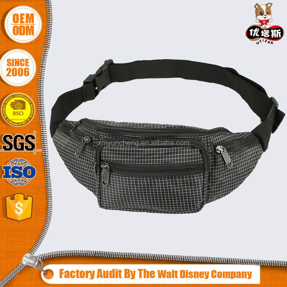 nylon women waist pouch sport fanny pack running belt