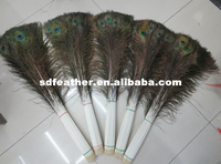 Best Quality 100-110cm Long Natural Peacock Feather