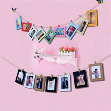 hanging christmas decoration paper photo frame family tree picture frames