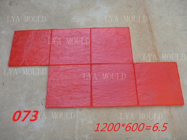 Stamped Rubber Flooring : Stamped concrete printer tool rubber mold stamp