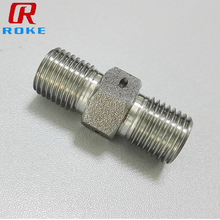 Stainless Steel Male Thread Long Hex 1/4 Npt Pipe Tbe Nipple