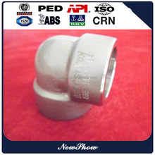 BW Pipe 45/90/180 Degree Long Radius Elbow Sch40