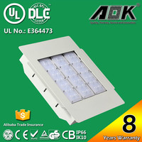 TUV-GS DLC UL CE RoHs SAA List 120W LED Canopy Light Fixtures with High Thermal Conductivity