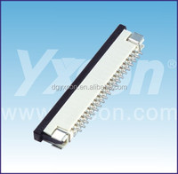 ROHS certificate 1.0mm pitch up / down side join FPC connector