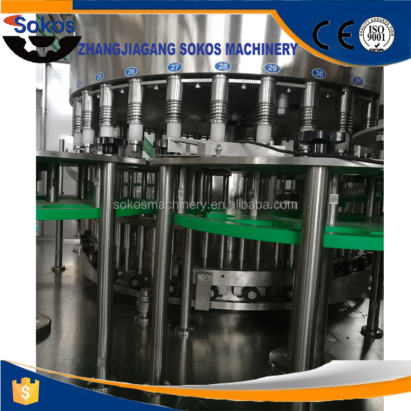 CGF 24-24-8 mineral water bottling machine / chemical / equipment