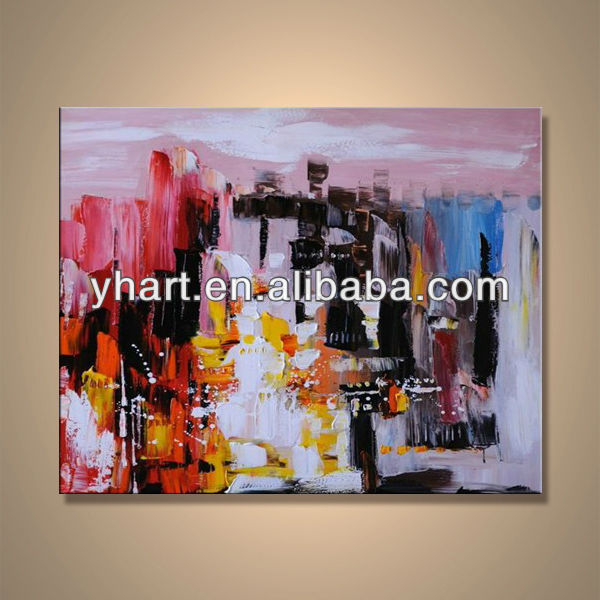Modern popular handmade oil painting abstract commercial painting design