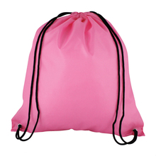 Custom made waterproof nylon polyester drawstring Bag