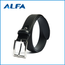 Alfa Wholesale Products Custom Design Men Cowhide Genuine 100% Pure Leather Belt