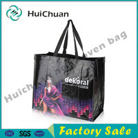 wholesales promotional Matte and Glossy laminated PP woven bag