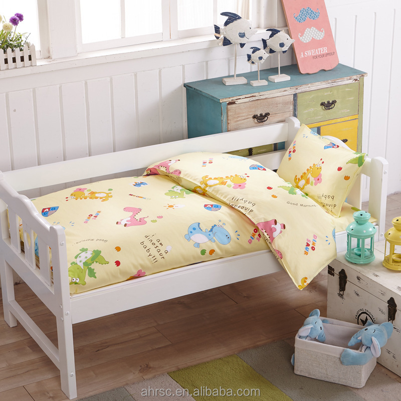 Lovely crib bedding baby print bedding sets luxury