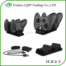 Dual Charging Dock Controllers Charger +2 x Rechargeable Batteries For Xbox One Charging Station