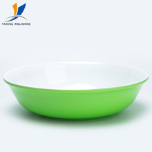 China wholesale non toxic 7 inch custom melamine plastic cereal soup bowl