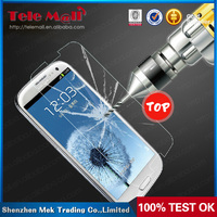0.3mm 2.5d round edge oleophobic coating waterproof Clear tempered glass screen protector For Galaxy s3 s4 s5 note 2 note 3