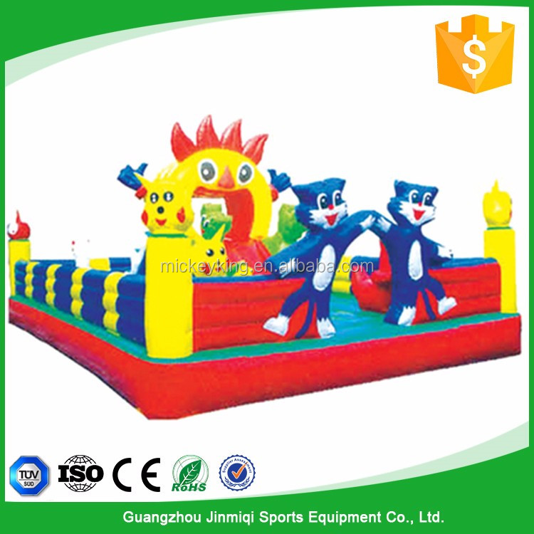 Promotional Honest suppliers PVC Inflatable jumping castle