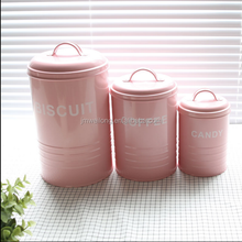 Sealed storage box tea sugar coffee jars canisters with lid