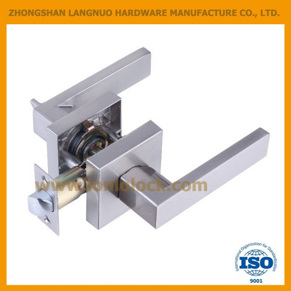 USA ,Canada,Austrilia privacy/passage/dummy popular morden square lever lock