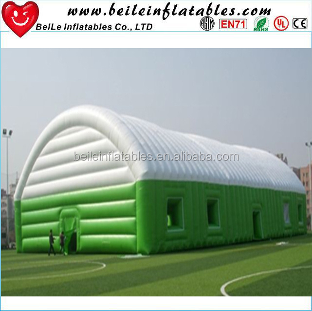 Factory Cheap Inflatable Cube <strong>Tent</strong> and Giant green and white Inflatable <strong>Tent</strong>
