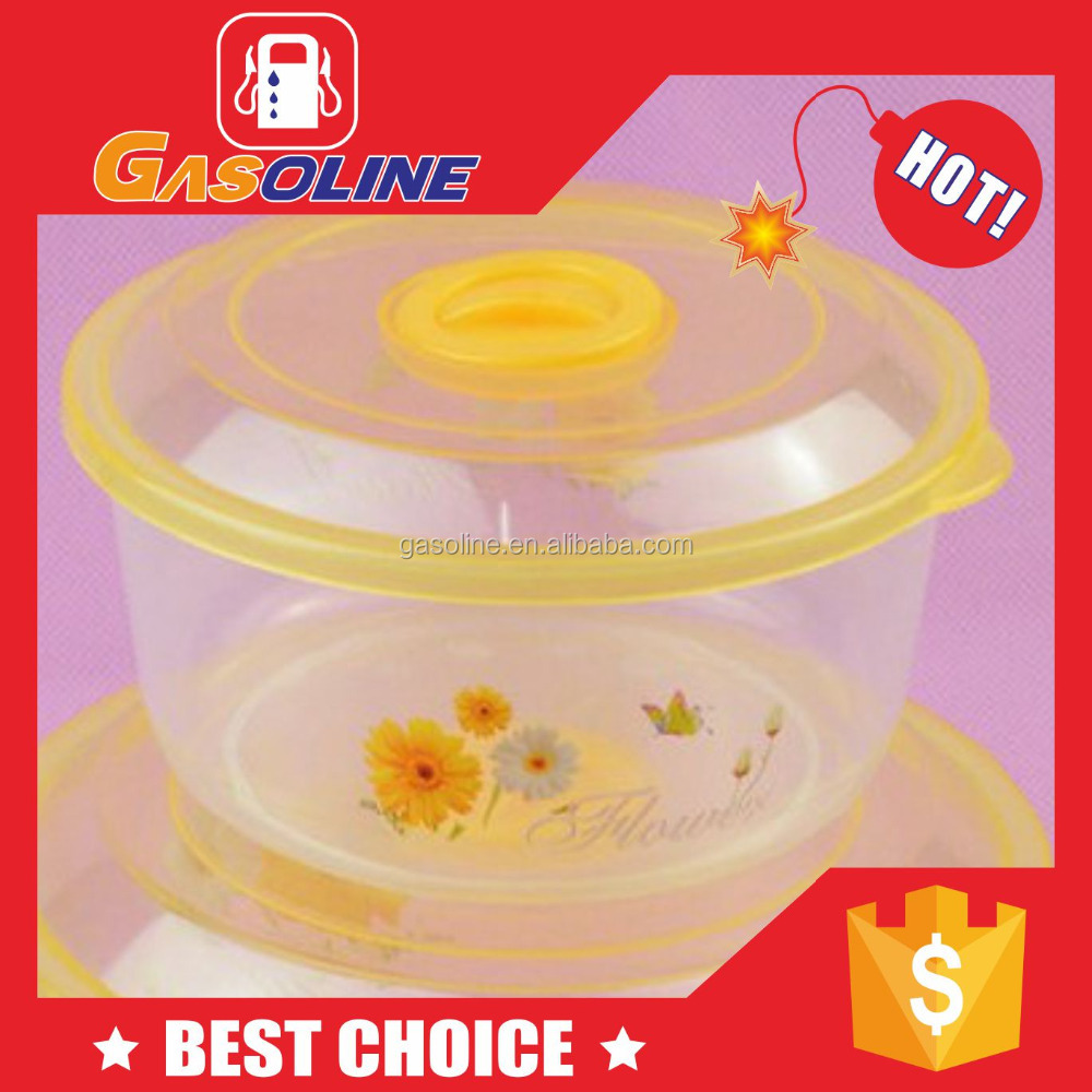 Factory supplied handmade airtight plastic powder container