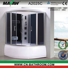 bathroom jetted tub shower combo steam shower A2025C A2026C
