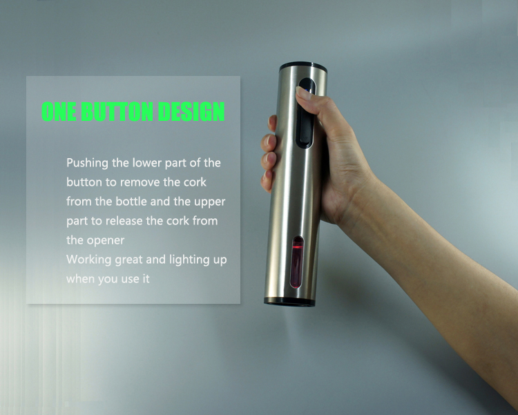 Portable Wine Accessories Electric Bottle Openers