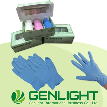 High Quality non sterile Nitrile Exam Disposable Glove