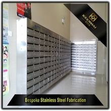 American Mailbox Wholesale Mailbox Stainless Steel Locking Mailbox