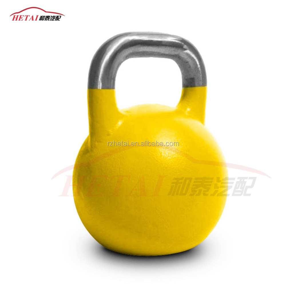 Gym equipment Heavy competition kettlebell 48kg for workout