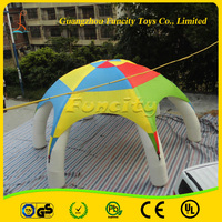 2015 new design customized color and size inflatable advertising tent,exhibition advertising tent for sale