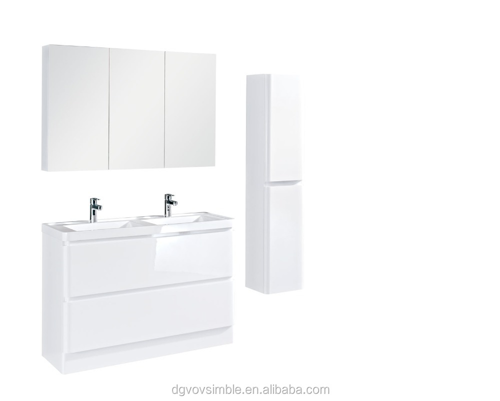 European Modern Style Wall hung bathroom cabinet,,Toliet furniture hanging wall solid wood bathroom cabinet